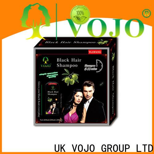 VOJO semi hair colour shampoo company for girls