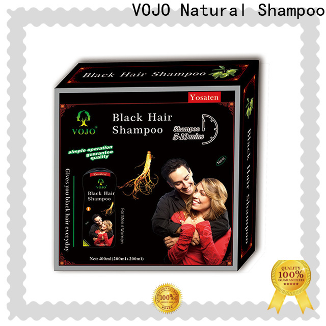 VOJO Wholesale herbal shampoo for business for man
