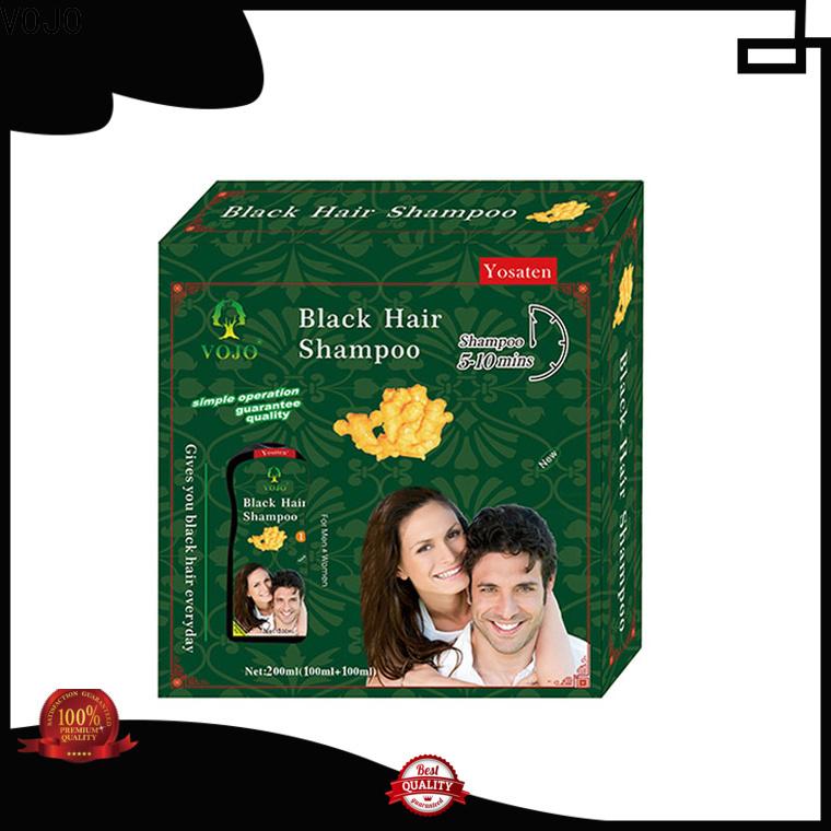 VOJO lasting hair colour shampoo company for man