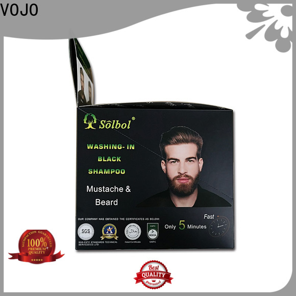 VOJO Custom natural shampoo for business for man