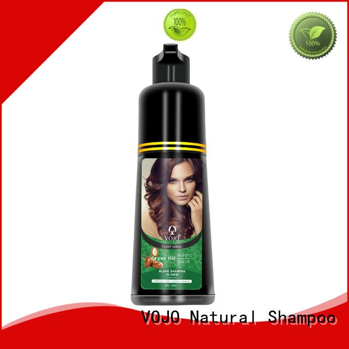 Custom hair dye shampoo extract factory for woman