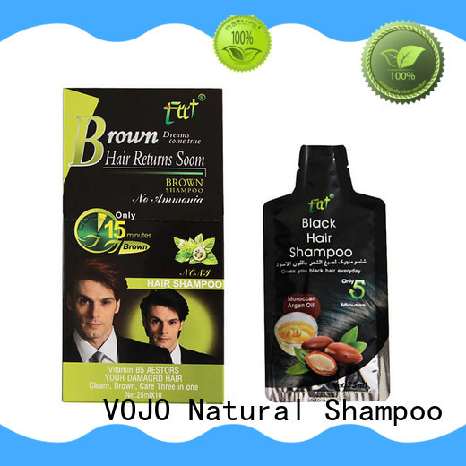 VOJO cream hair colour shampoo for sale for adult