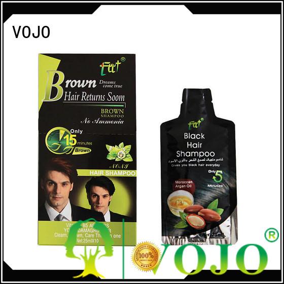 VOJO Latest beard dye shampoo supply for man