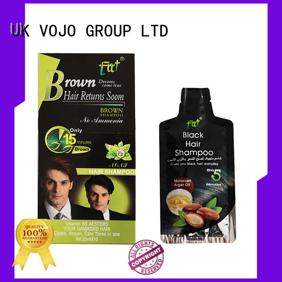 VOJO mustach hair colour shampoo suppliers for adult