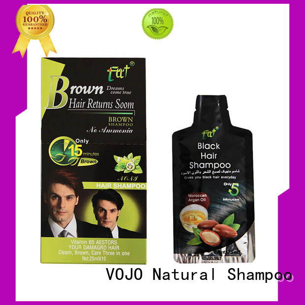 VOJO ginseng hair dye shampoo manufacturers for girls
